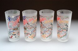 North Carolina Glasses Set,043G