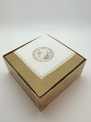 Boxed State Seal Cocktail Napkins