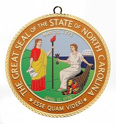 2014 NC State Seal Ornament