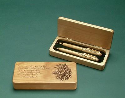 Maple Longleaf Pine Pen Set,PPSET