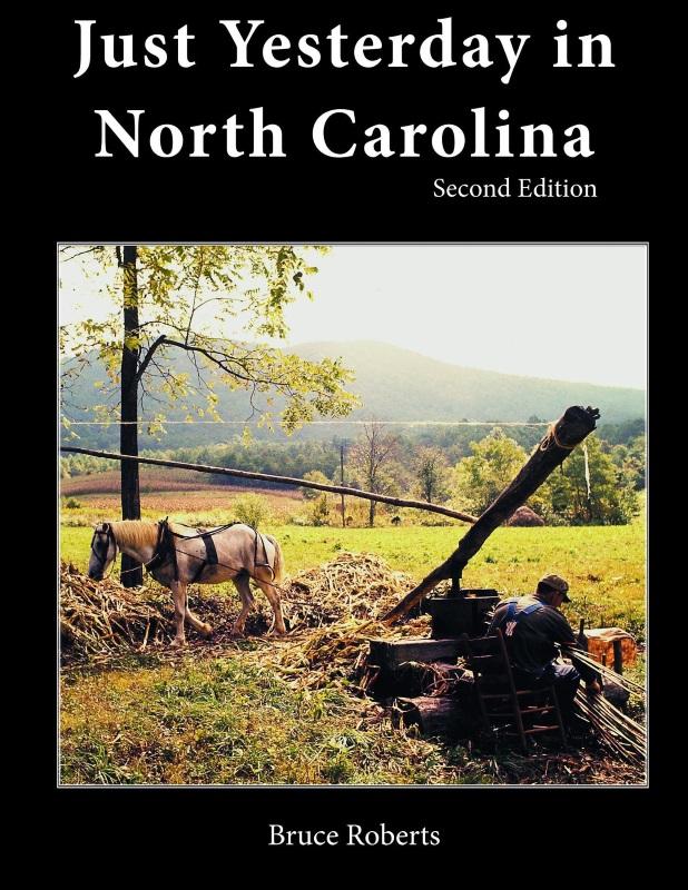 Just Yesterday in North Carolina,PINEAPPLE PRESS,018726396