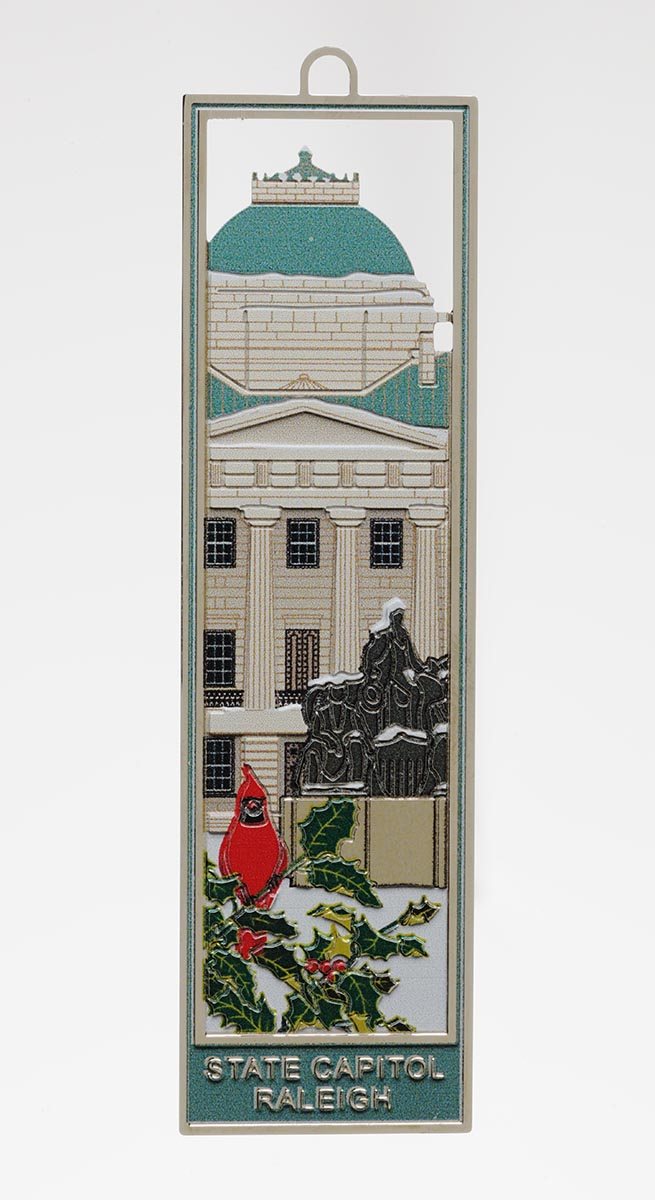 Winter At The Capitol Bookmark,BKC8449