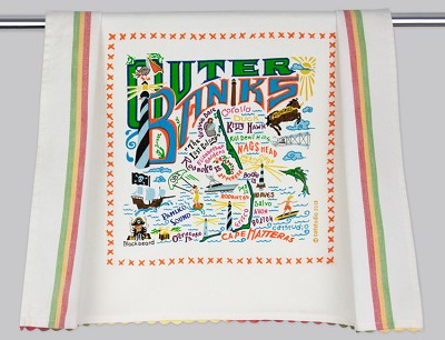 Outer Banks Dish Towel,157D