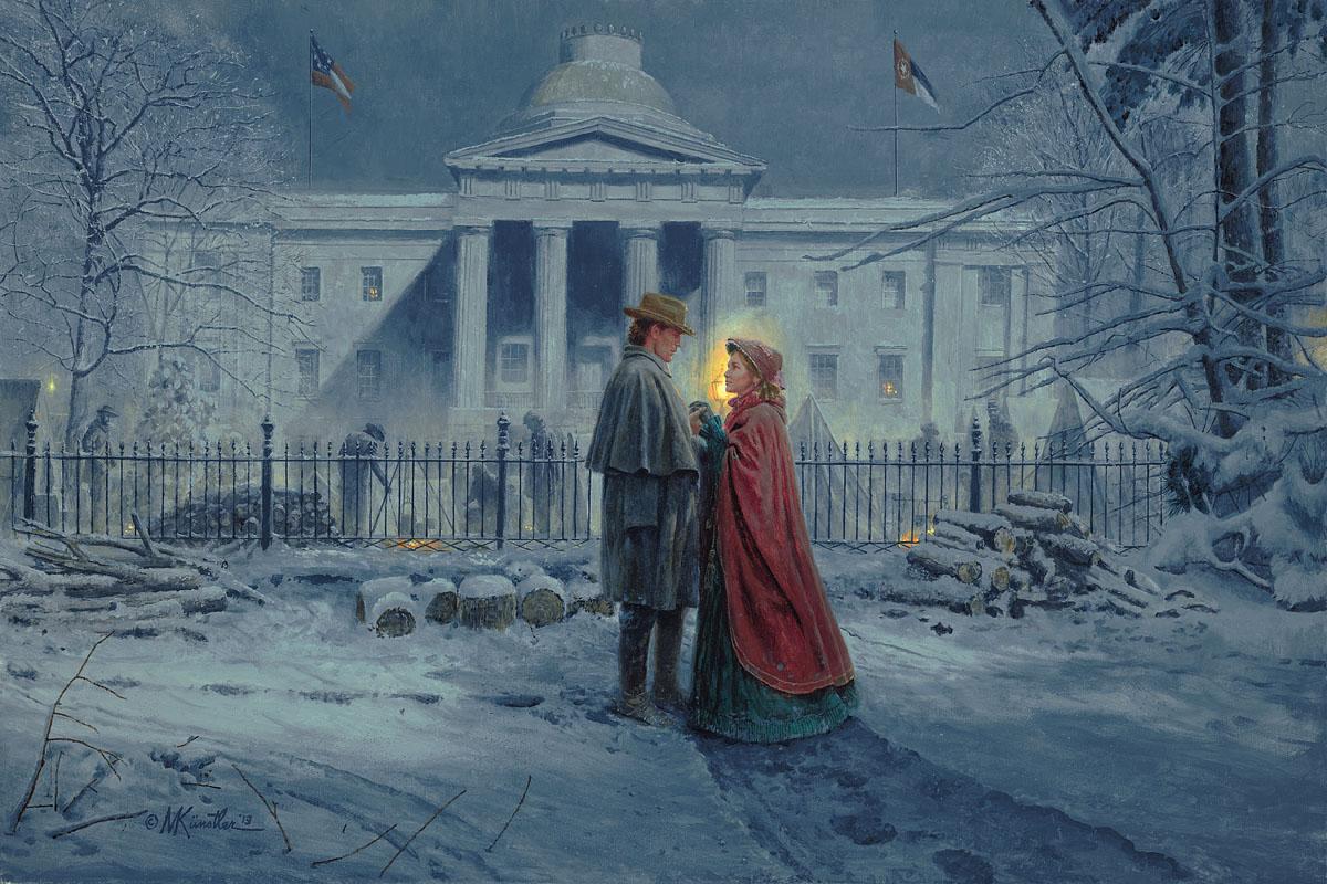 Capitol Farewell Print