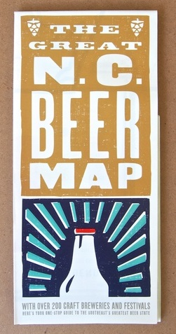The Great NC Beer Map/Revised