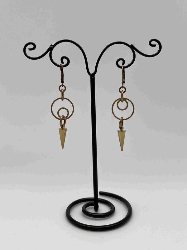 Opposing Circles Earrings