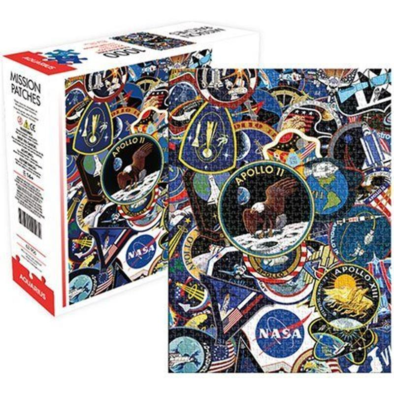 NASA Mission Patches 1000pc. Puzzle,24209