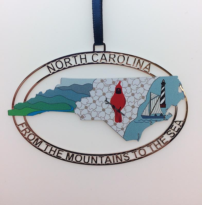 2019 N.C. From the Mountains to the Sea Ornament,ORC4082