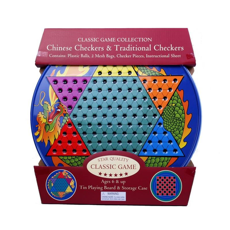 Chinese Checkers in Tin,103440