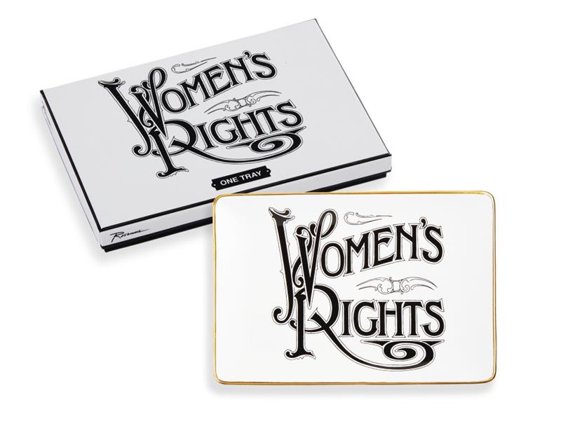Women's Rights Tray/Votes for Women,98642