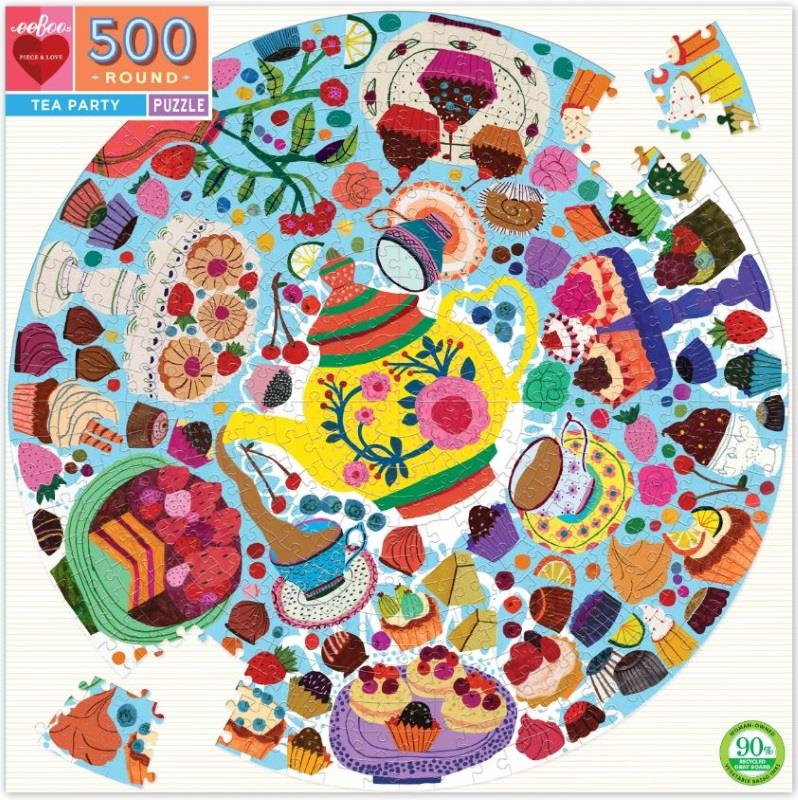 Tea Party 500 Piece Puzzle,PZFTEA