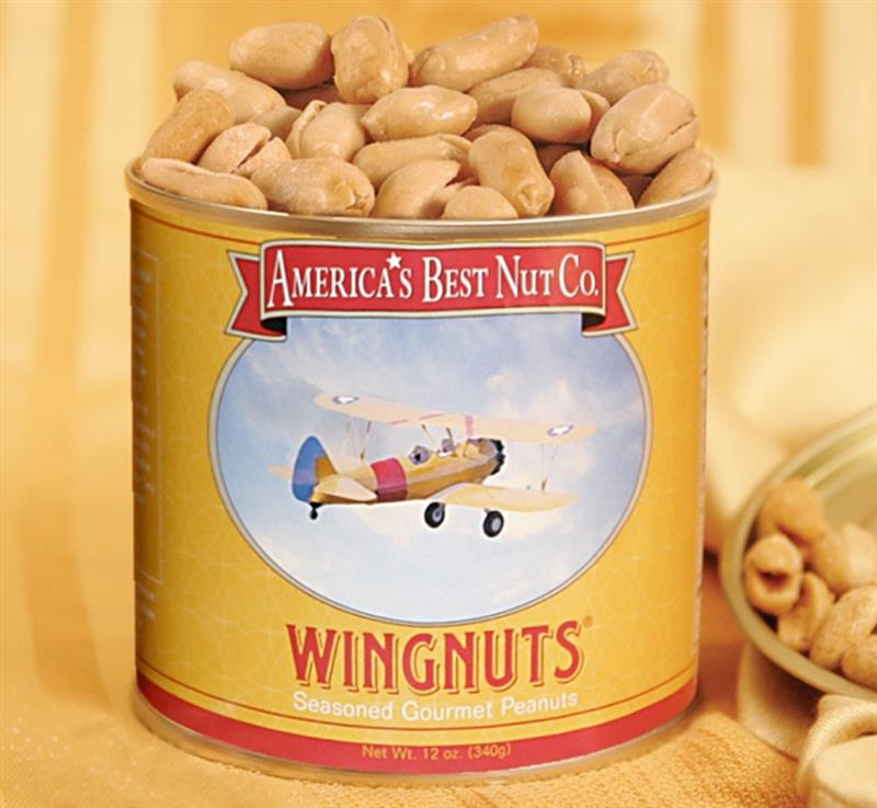 12oz.Wingnuts XL Seasoned Peanuts,120W12