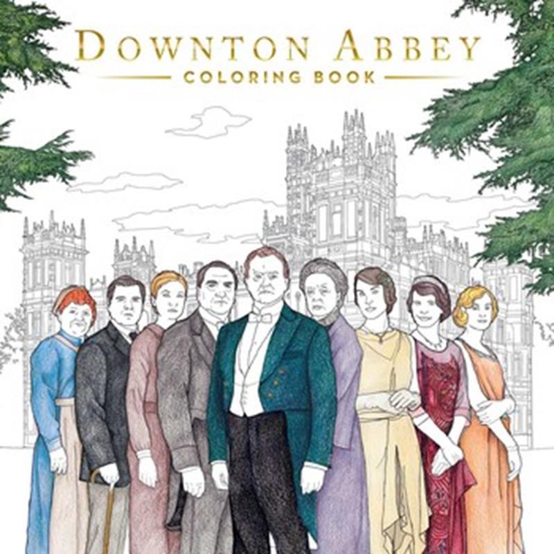 Downton Abbey Coloring Book